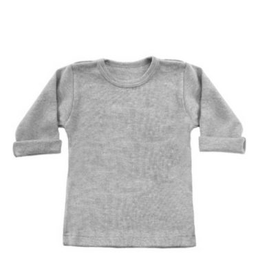 basic grijze long sleeve