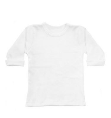 basic witte long sleeve