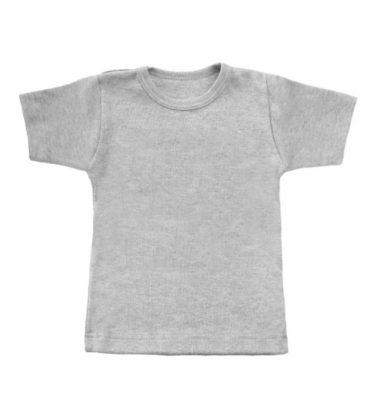 grijze basic t-shirt
