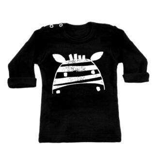 by Xavi Zebra longsleeves black