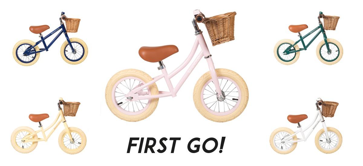 Banwood First Go! loopfietsjes header