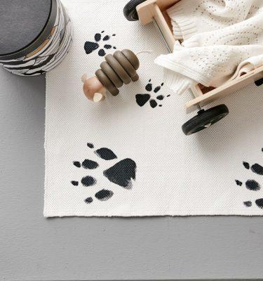 Kids Concept Rug Neo Black/White Impressie