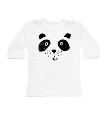 Sily panda longsleeves wit
