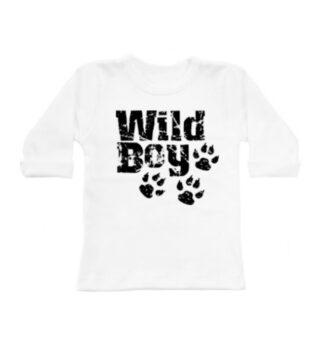 Wild Boy Longsleeve Wit