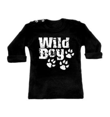 Wild Boy Longsleeve Zwart