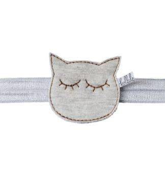 Winter Dream Cat Grey Haarband