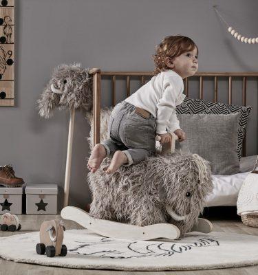 kids concept hobbelpaard mammoet neo impressie