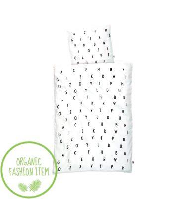 Design Letters Organic Bed Linen Junior