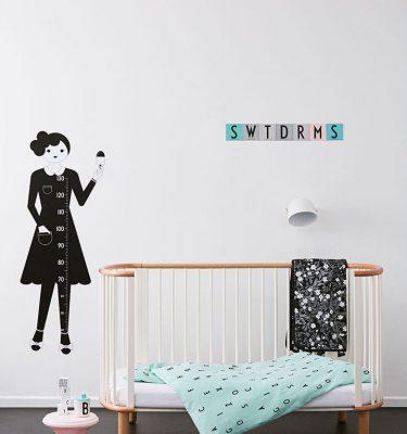 Design Letters Organic Bed Linen Junior Groen impressie
