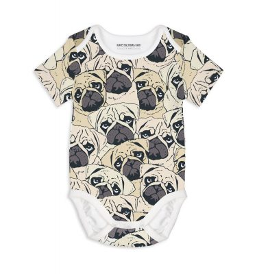 sleep no more pug off romper