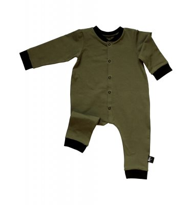 by xavi jumpsuit army black
