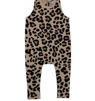 Cribstar – Beige Leopard Harem Romper