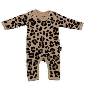 Cribstar – Beige Leopard Romper