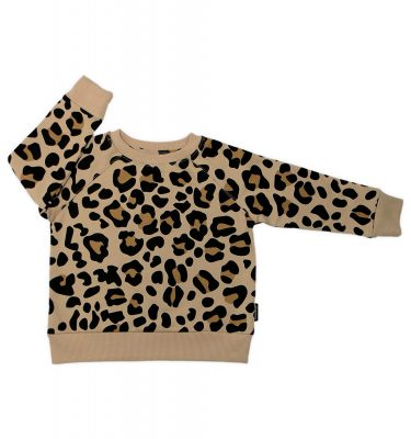 Cribstar – Beige Leopard Sweater